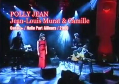 Polly Jean – Live @ Nulle Part Ailleurs (avec Camille) – 2000