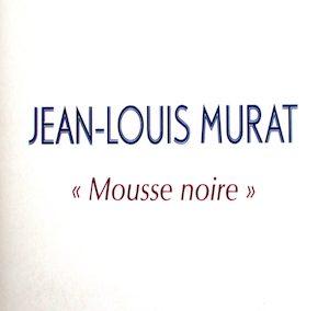 Mousse noire – extrait de Tristan – 2008